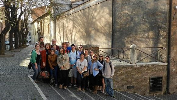 JCU Students Explore Roman Traces of Eastern Christianity