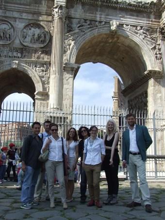 Professors commemorate the Battle of the Milvian Bridge