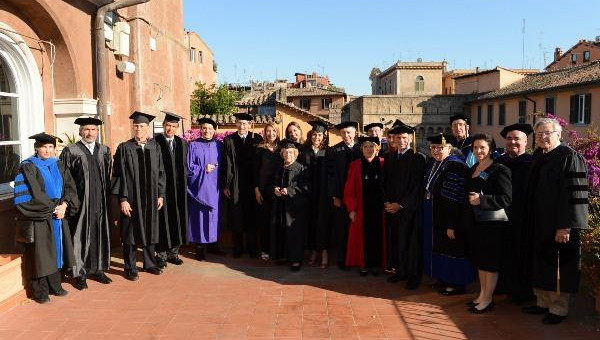 Italian Minister Giulio Terzi di Sant'Agata Awarded Honorary Degree