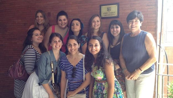JCU Welcomes College Students from National Organization of Italian American Women's Cultural Exchange Program