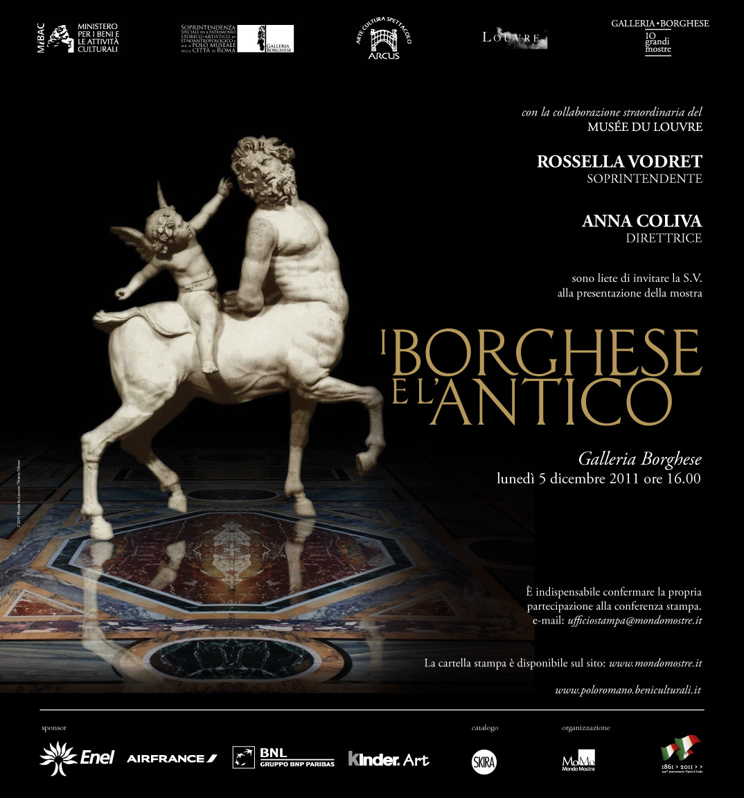 Professor Anna Tuck-Scala Reviews Il Borghese e l'Antico Exhibition