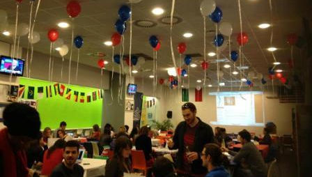 JCU Community Celebrates Election Night