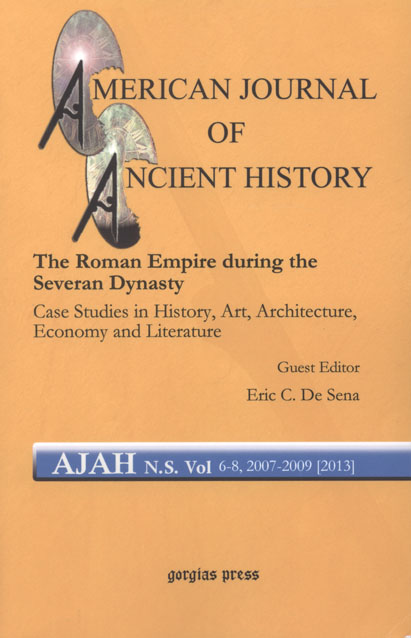 The American Journal of Ancient History