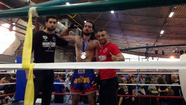 Congratulations Fares Cheikh Moussa, New Muay Thai World Champion!