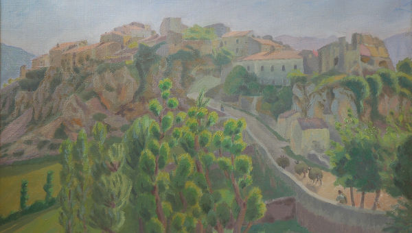 "Professor James Schwarten Curates Art Exhibit in Rome: ""Danish Impressionists in Abruzzo"""