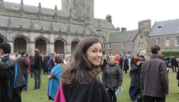 Chiara De Luca: From Naples to St Andrews University in Scotland