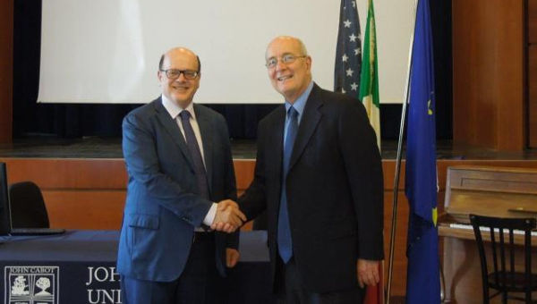 President Franco Pavoncello Interviewed by USA Today on Italian PM
