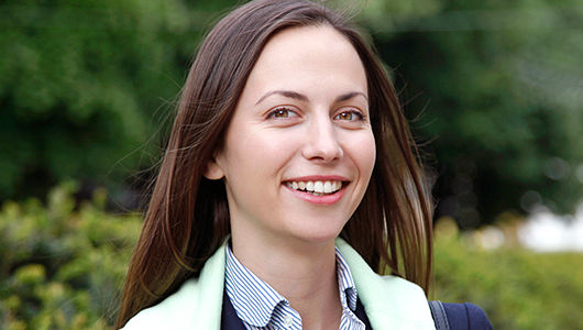 Meet Alumna Eva Paunova from Bulgaria, One of Europe's Youngest MPs