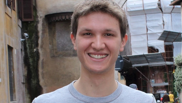 "Communications Student Giacomo Sproccati Wins ""Best Speaker"" Award"
