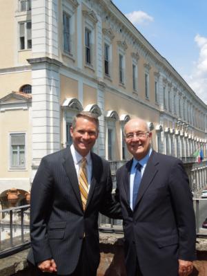 Presidents Pavoncello and Brian Nolan