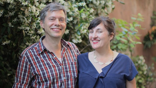 Peter Strekfus and Heather Green Give Poetry Reading at JCU