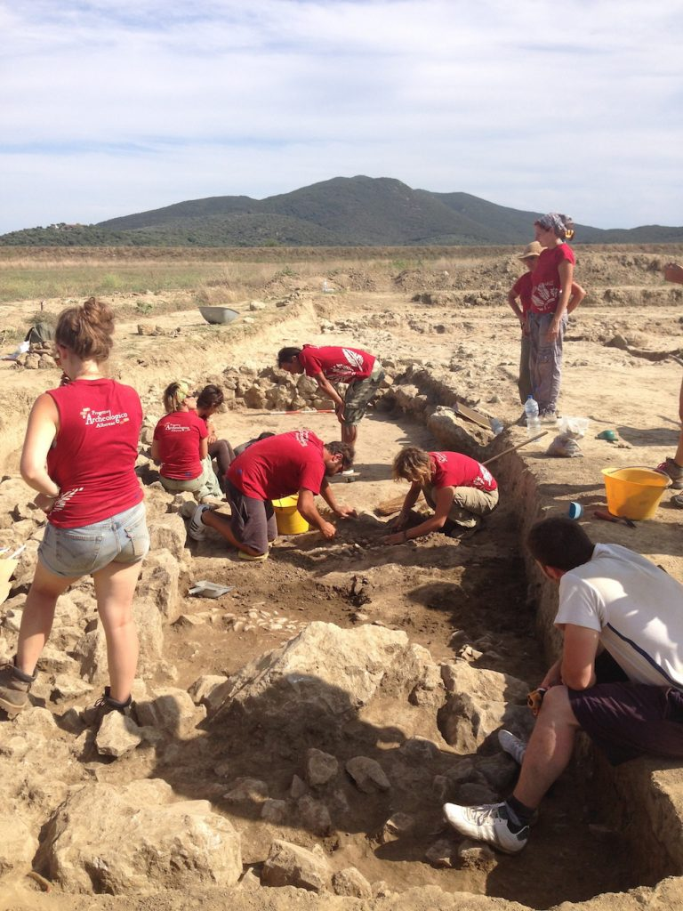Alberese Archaeological Field School Excavation 2014