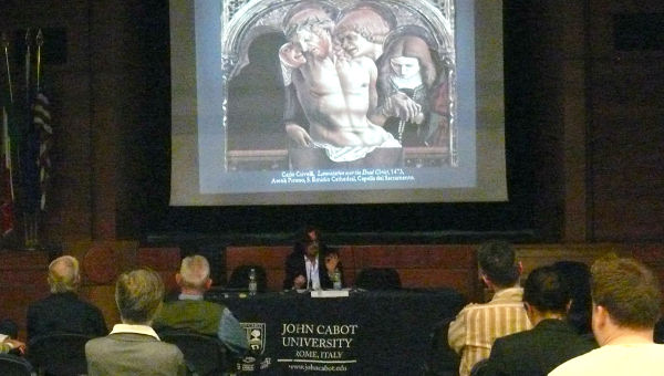 """Sacrifice, Mystery, and Incision:"" Prof. Francois Xavier Gleyzon on Shakespeare and Paolo Uccello"