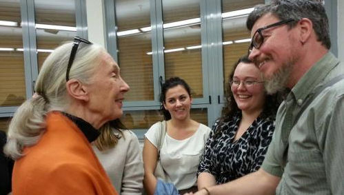 Renowned Naturalist Jane Goodall Visits John Cabot University