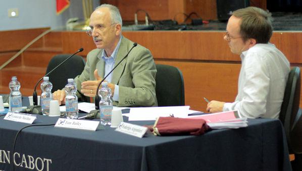 Guarini Institute Welcomes Leonardo Morlino for Distinguished Lecture