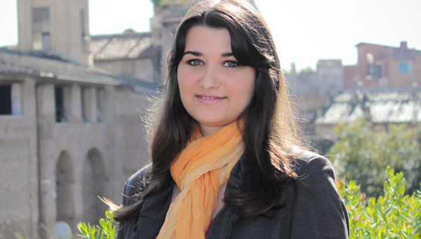 JCU Student Loredana Mihani Participates in Conference at Keats-Shelley House in Rome