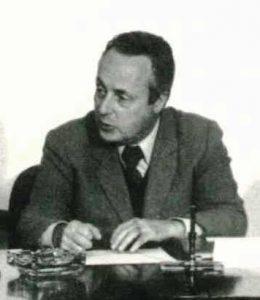 Italian writer Giorgio Bassani