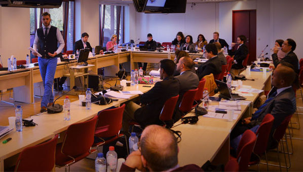 Professor Pal Belenyesi Lectures in Conference on Cross-Cultural Negotiations in Brussels