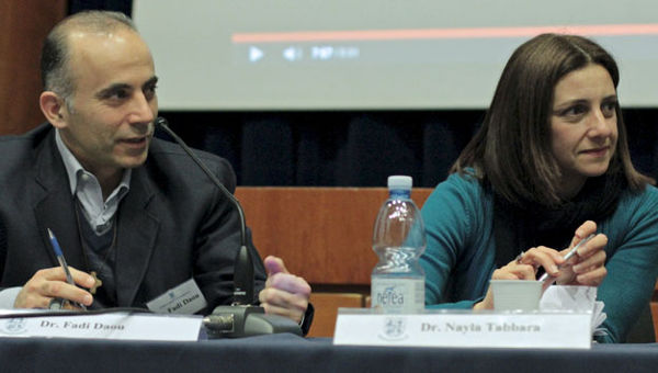 Dr. Fadi Daou And Dr. Nayla Tabbara of the Adyan Foundation