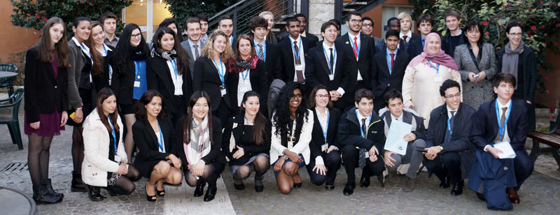 JCU Model United Nations Society 2015