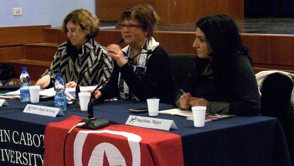 The Guarini Institute Hosts a Panel Discussion on Tunisia and the Arab Spring