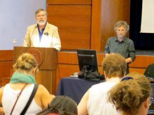Prof. Carlos Dews and Kevin Brophy