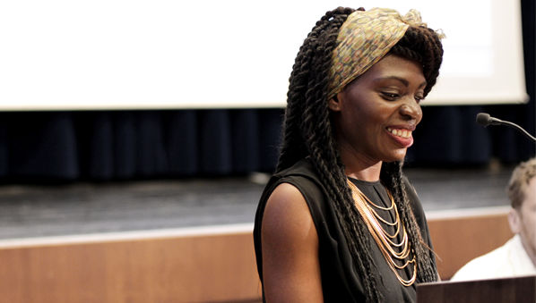 JCU Department of Communications Welcomes Liberian-Italian Rapper Anna Maria Gehnyei (Karima 2G)