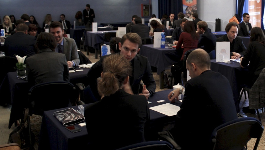 Fall 2015 Career Fair Brings Academic and Professional Realms Together at JCU