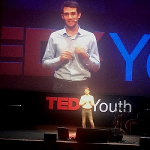 Christian at TEDxYouth