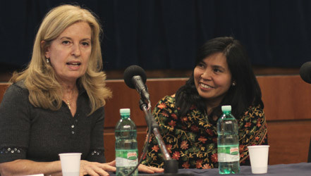 United Nations Women's Guild Offers Advice to Students Volunteers at Community Service Forum