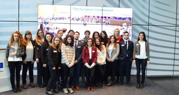 International Relations Society Goes on Study Trip to Brussels