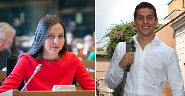 "JCU Alumni Eva Paunova and Leonardo Quattrucci Featured in Forbes ""30 Under 30 Europe"" List"