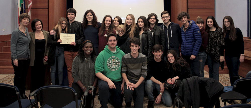 Italy Reads 2015 Student Video Contest Awards