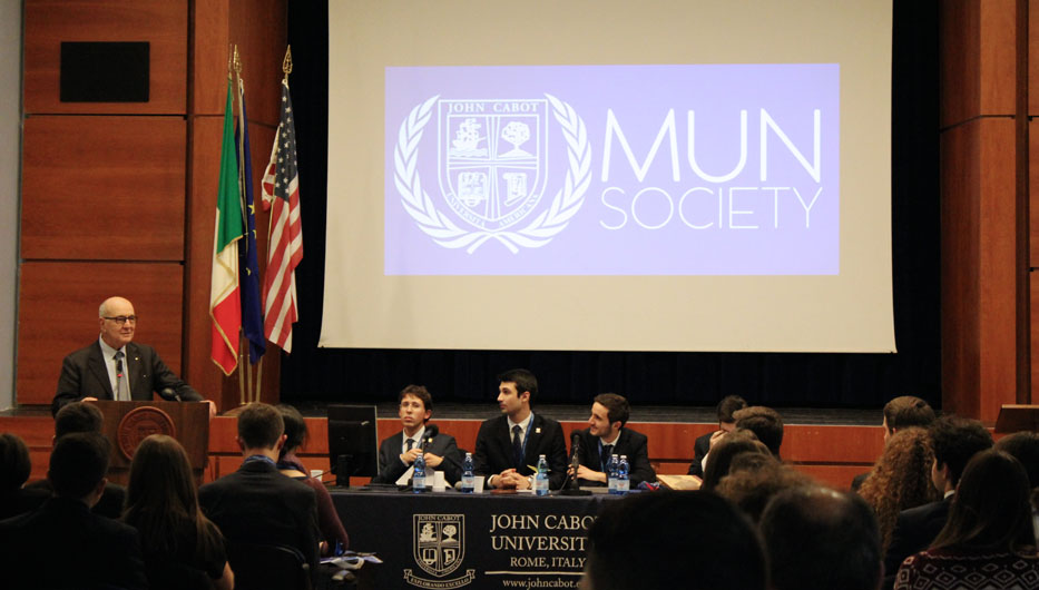 MUN Society Hosts Sixth Annual Conference for High School Delegates