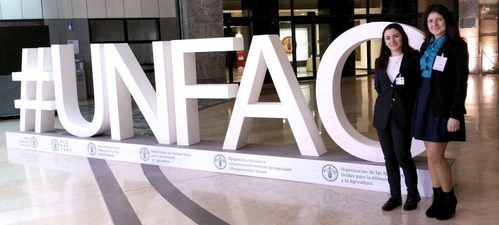 JCU Grassroots representatives at FAO Symposium