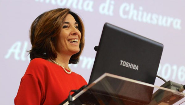 "Professor Antonella Salvatore Speaks at ""Digital Transformation"" Conference"