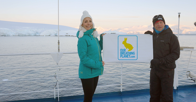 JCU Alumna and Environmental Activist Zornitza Hadjitodorova Returns from International Antarctic Expedition