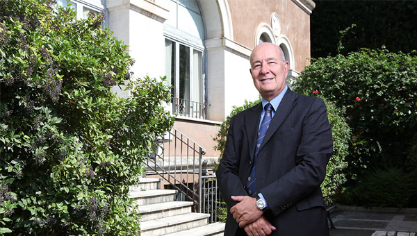 President Franco Pavoncello Interviewed by Canadian Daily Globe and Mail on Vladimir Putin's Visit to Italy