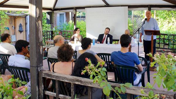 From left: Pamela Harris, Hans Noel, Lucio Martino, Federigo Argentieri