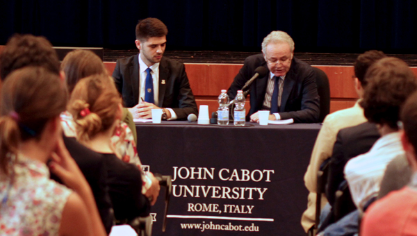 JCU Welcomes Aydın Adnan Sezgin, Ambassador of Turkey to Rome