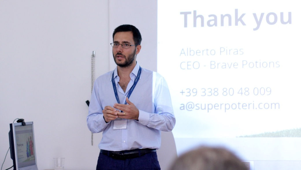The Institute for Entrepreneurship Welcomes Alberto Piras from Brave Potions