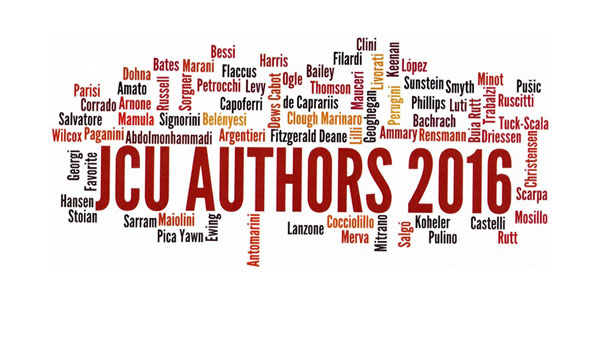 The Frohring Library Presents JCU Authors 2016