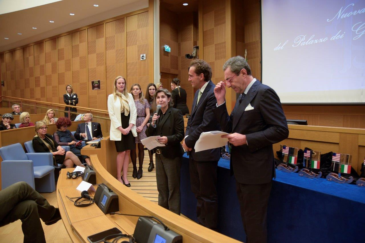 JCU Students Receive Medals from the Italian Parliament and the Italy-USA Foundation