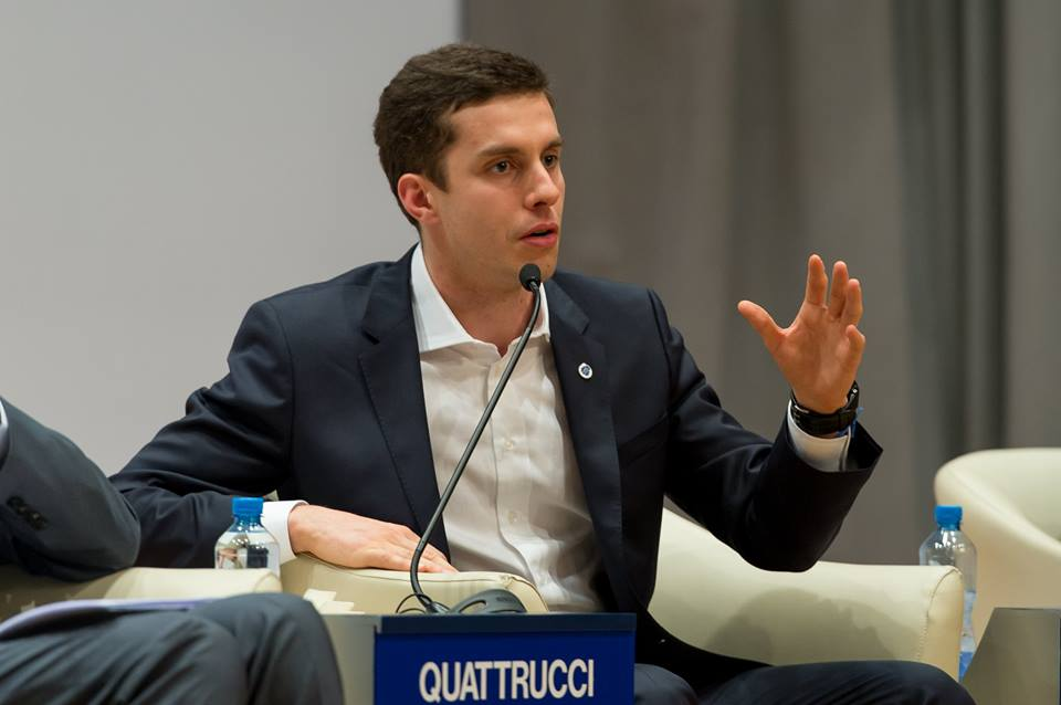 Alumnus Leonardo Quattrucci Participates in World Economic Forum