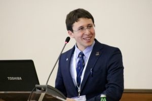 Giuseppe Spatafora, President of the Model United Nations Society