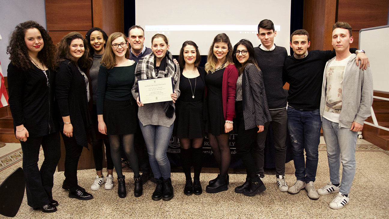 2015 Student Video Contest Award Ceremony Hosted by Italy Reads