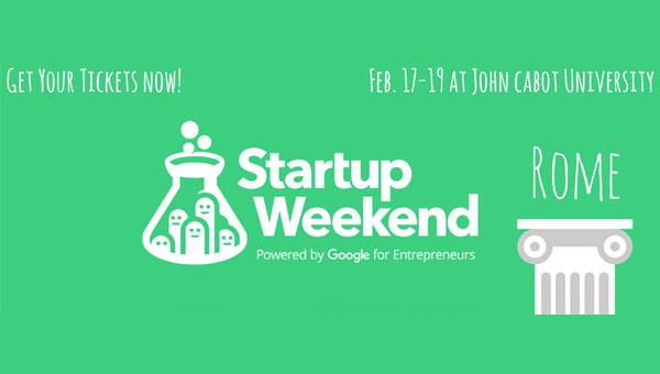 Startup Weekend Rome | February 17-19