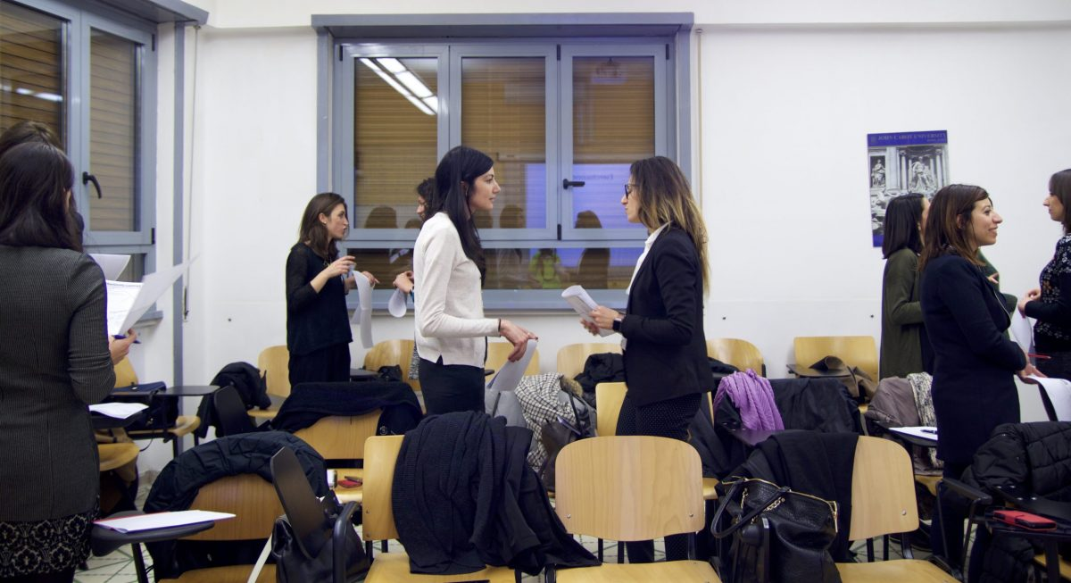 "IFE Hosts Workshop ""Trasmetti il tuo Valore"" with Young Women's Network"