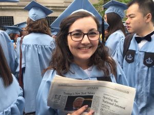 Truth and Accountability: Journalist and Alumna Francesca Mirabile
