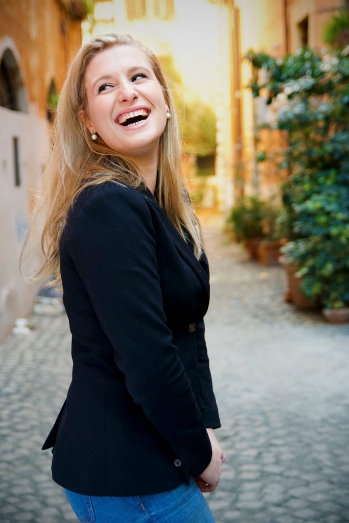 Alumna Milena Rivolova
